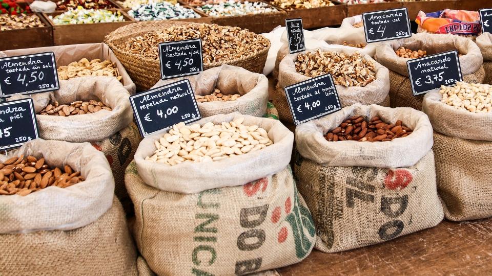 Frutos secos, aliados de una dieta saludable